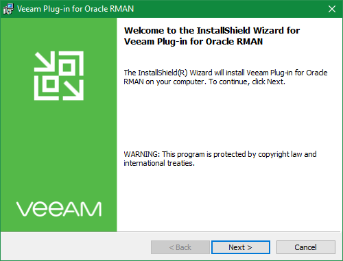 domalab.com Veeam RMAN backup plug-in