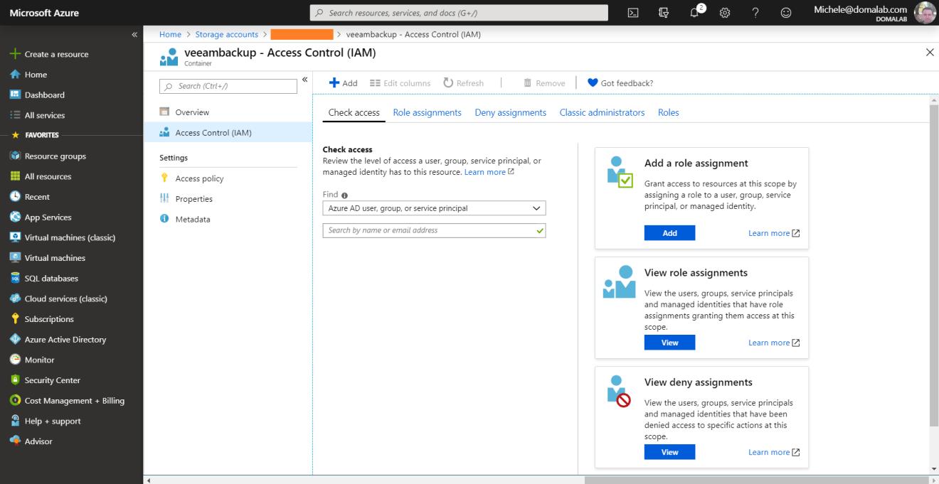 domalab.com Azure Blob Storage