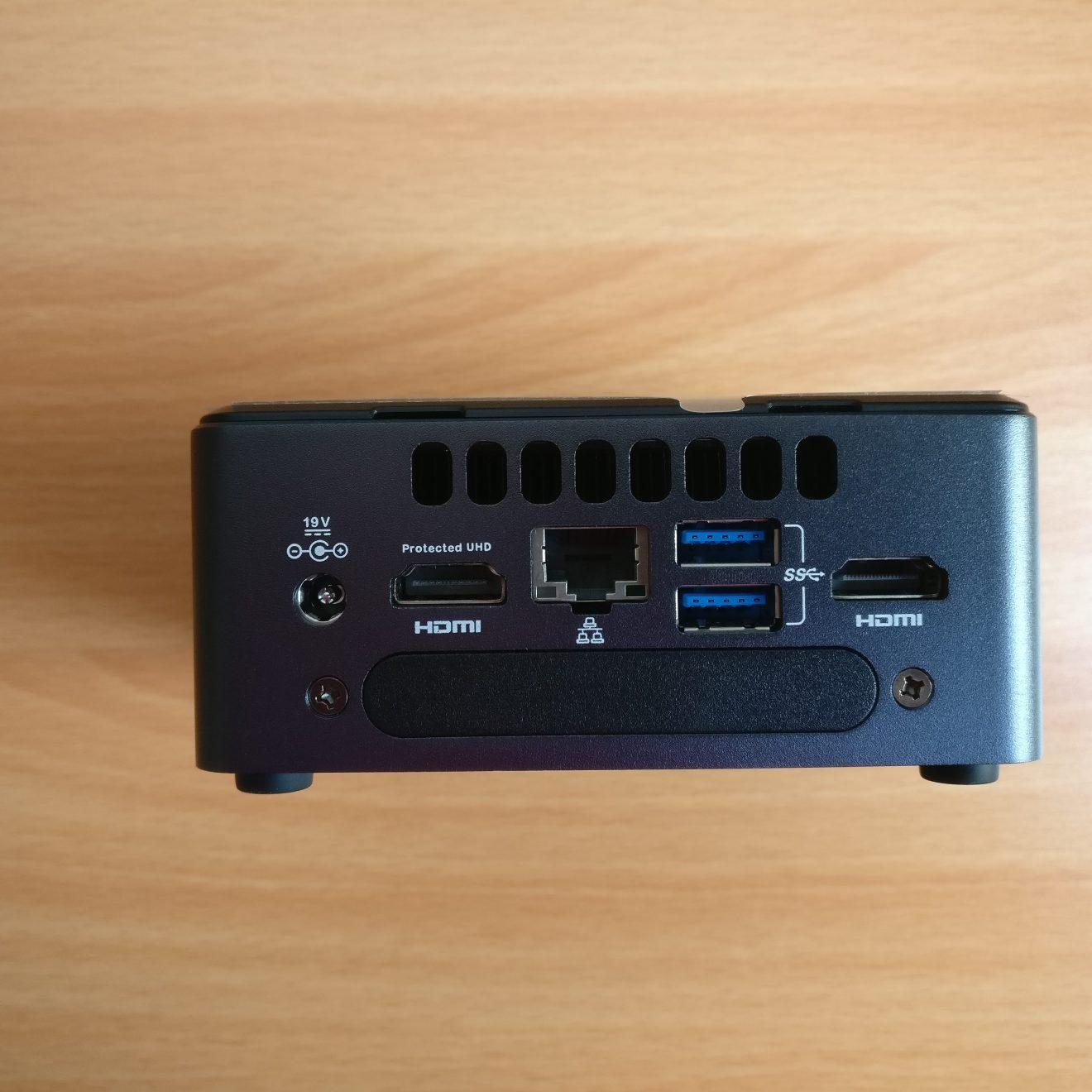 domalab.com Intel NUC 7i7DNHE setup