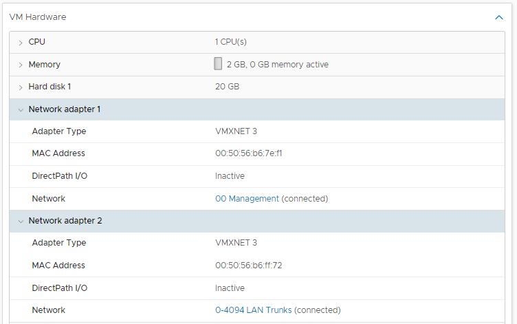 domalab.com setup pfSense on VMware