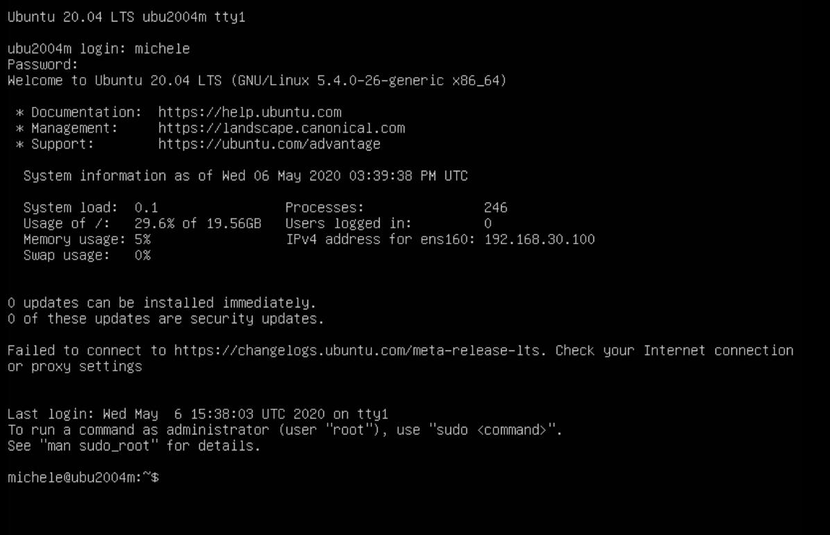 domalab.com Install Ubuntu 20.04 Server on VMware