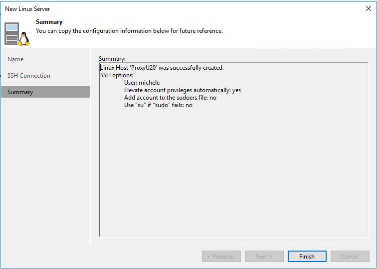 domalab.com Veeam Linux Backup Proxy