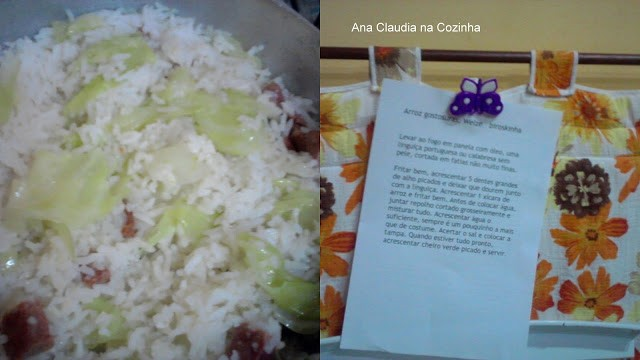 Arroz gostosuras