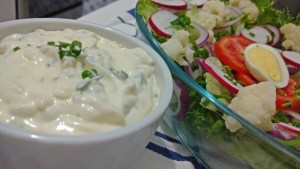 molho caseiro para salada