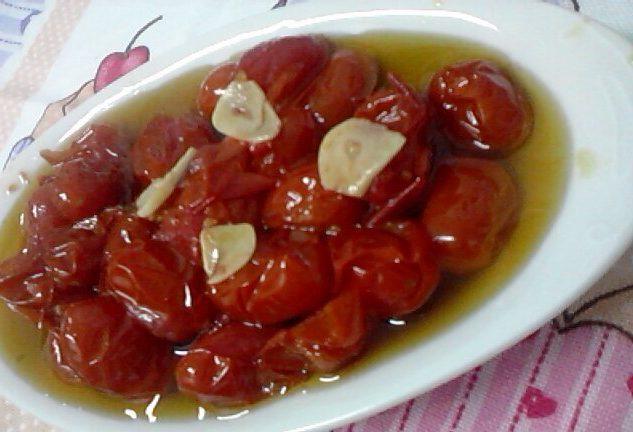 Confit de tomate sweet grape