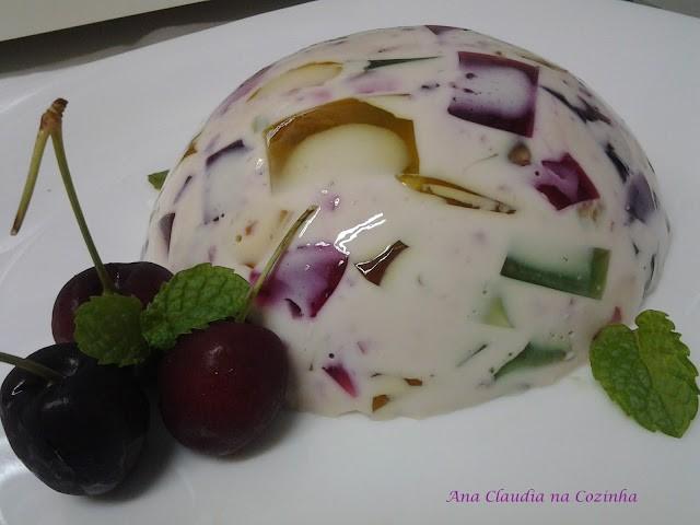 gelatina colorida