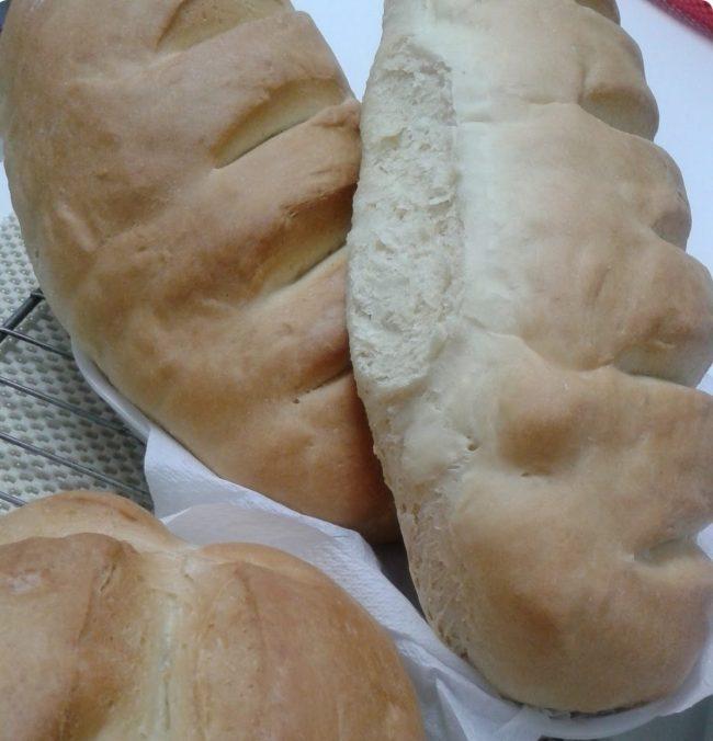 pão italiano caseiro