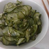 Sunomono - Salada Agridoce de Pepino