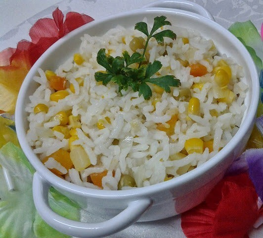 arroz preguiçoso
