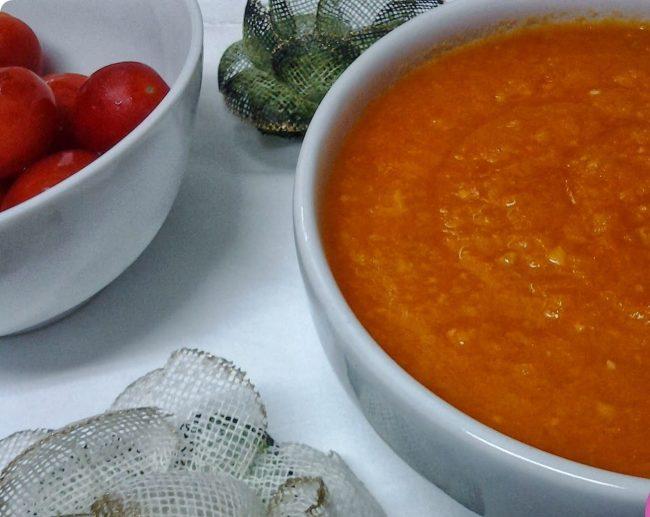 molho de tomate feito em casa
