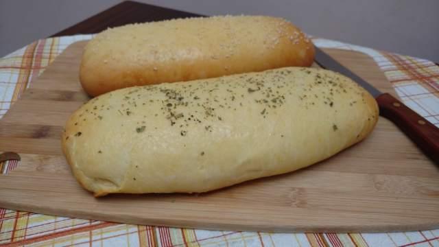 pão de leite recheado