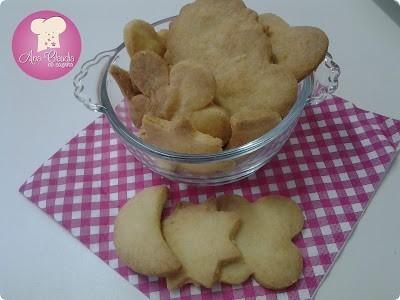 biscoito doce amanteigado com raspas de limão