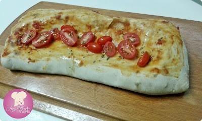 Massa de pizza - longa fermentação