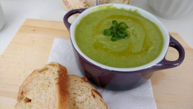 receitas de sopas sopa de ervilha fresca