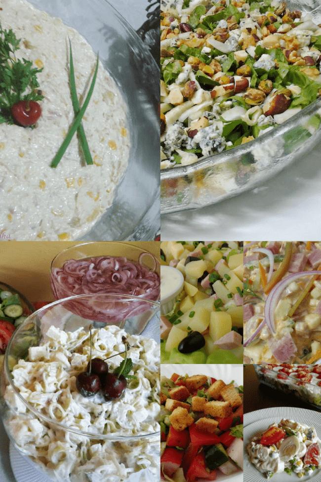 8 receitas de saladas para o Natal e ano novo