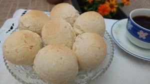 pão de queijo 3 ingredintes fácil