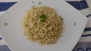 falso arroz de couve flor