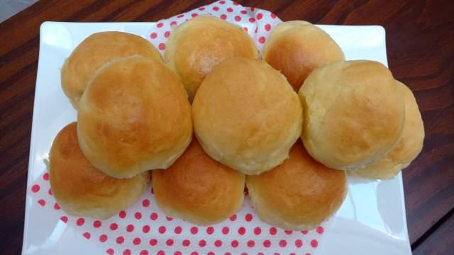 pão caseiro fofinho para lanches