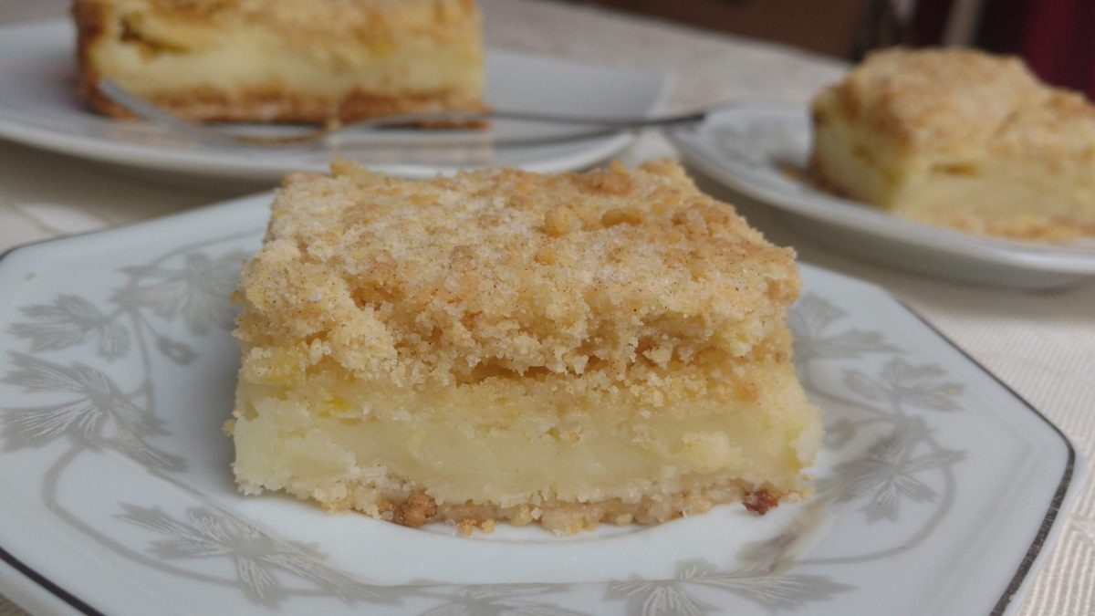Torta italiana (torta farofa)