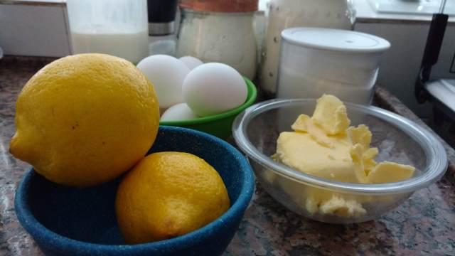torta de limão francesa