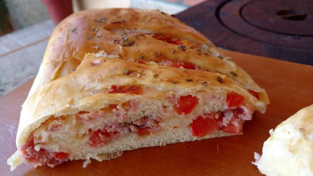 pão pizza