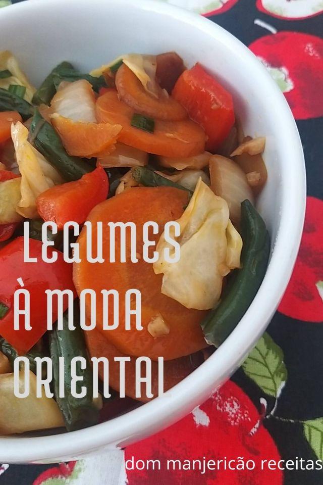 legumes a moda oriental