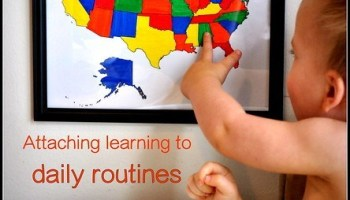 Toddler Geography: Colorful Countries of the World Maps