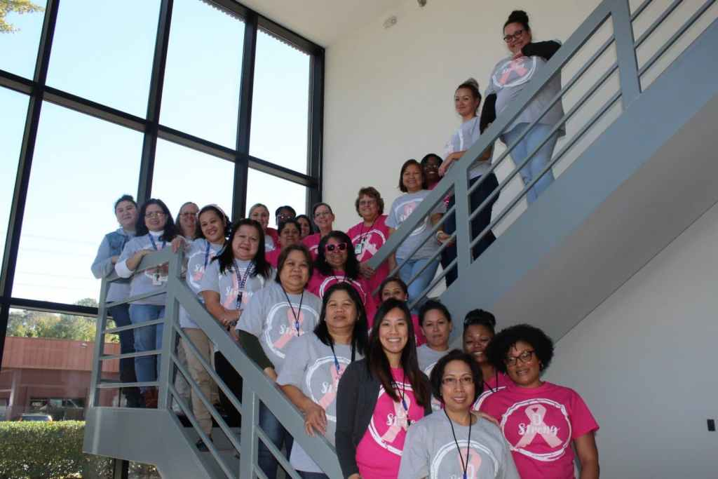 DOMA employees honor Breast Cancer Awareness Month