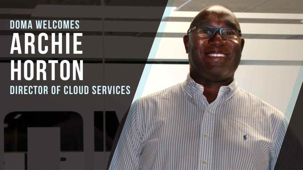 Archie Horton Director of Cloud Services