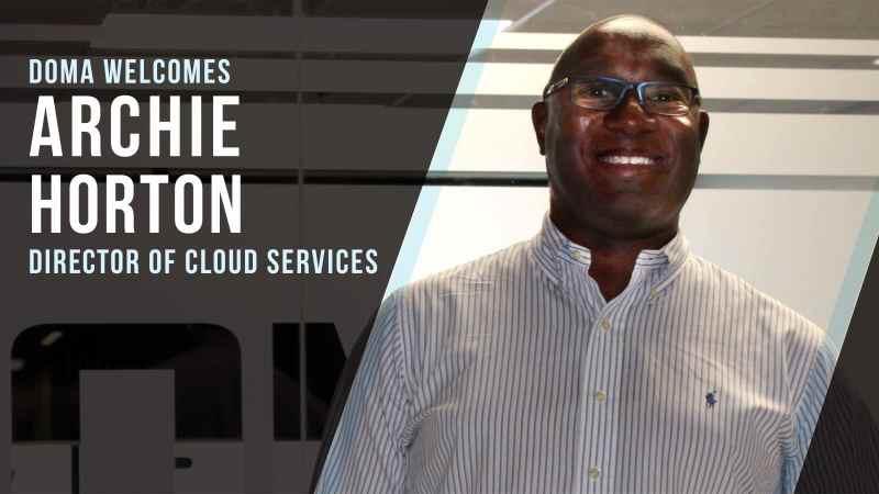 Archie Horton Director of Cloud Services