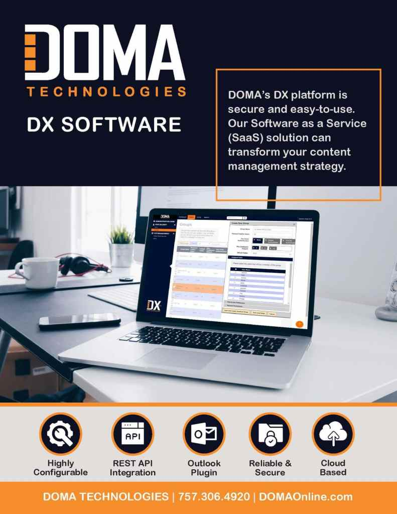 DX Software Brief Page 1