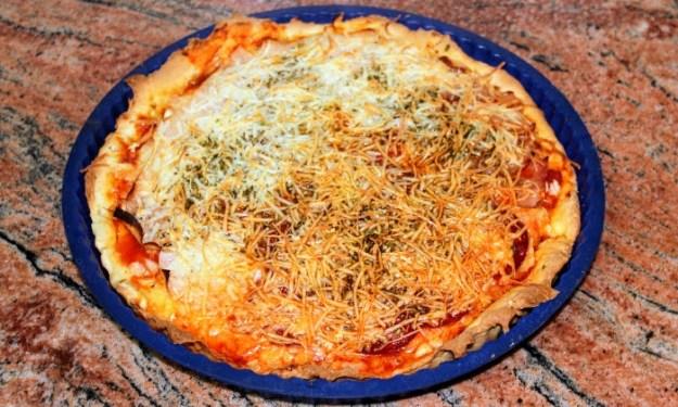 Пица с три вкуса