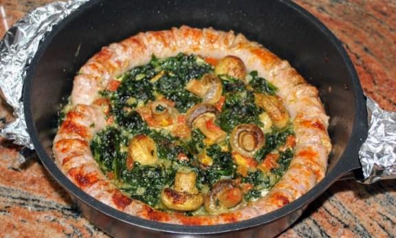 Две бързи и много лесни рецепти с гъби и спанак, подходящи за обяд и вечеря
