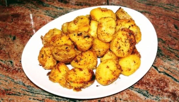 Апетитни картофи за мезе и гарнитура