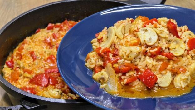 Постна рецепта с ориз