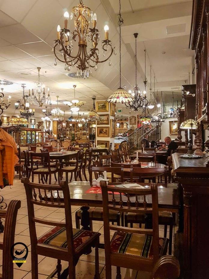 Antykwariat i restauracja w jednym