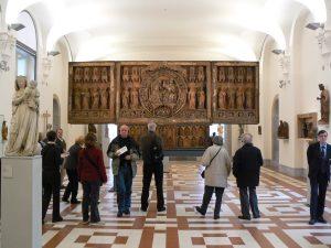 Das Original der Goldenen Tafel ist im Berliner Bode-Museum ausgestellt.