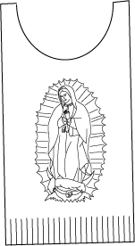 A Tilma for the Feast of Our Lady of Guadalupe