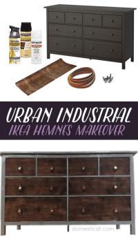 IKEA Hack: Urban Industrial Dresser  Domestic AF