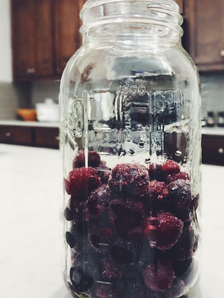 Cherry Vanilla Shrub