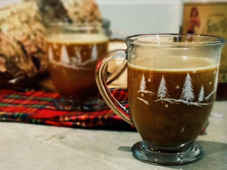All things considered, there's nothing better than a blanket and a cup of hot buttered yum to snuggle your soul. I hope you try my version and find that it keeps you warm on a chilly evening!