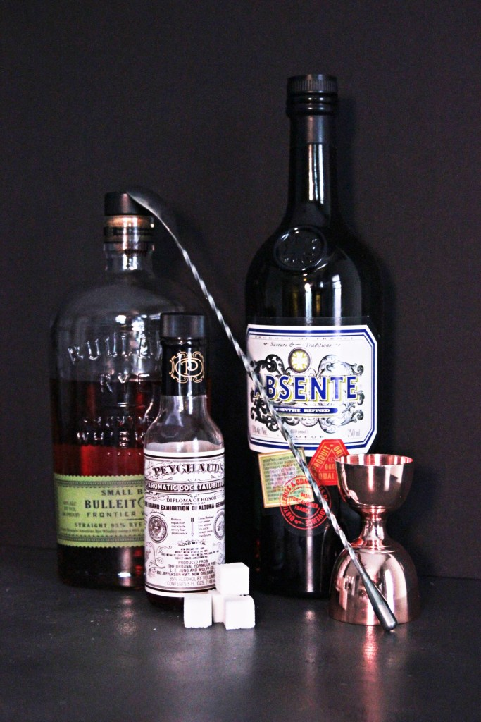 Serious Cocktails: Sazerac Ingredients