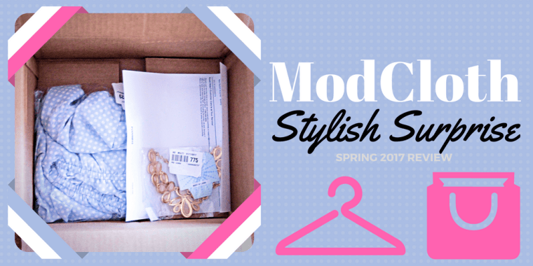 modcloth stylish surprise review domestic af