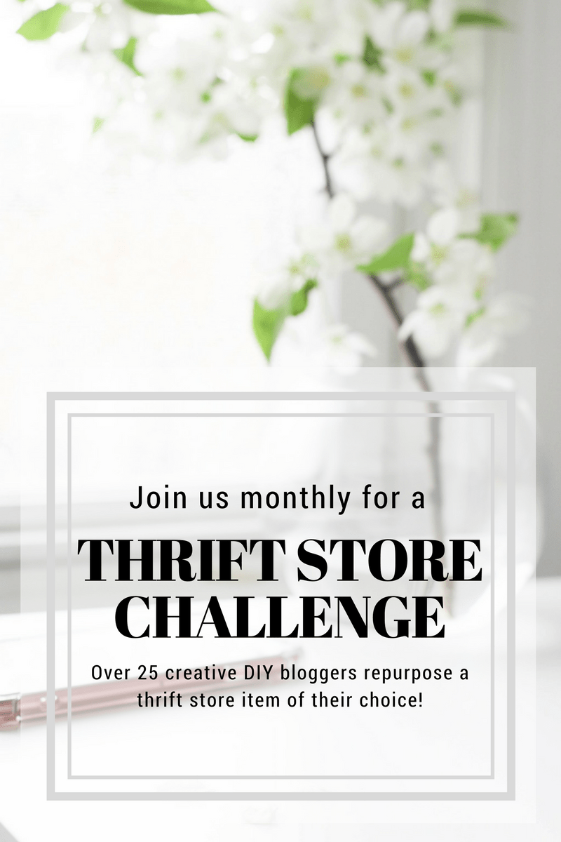 monthly thrift store challenge Transform your Furniture with Milk Paint