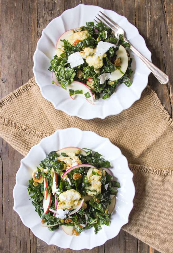 Autumn-Kale-Salad-with-Roasted-Cauliflower-and-Apple-4
