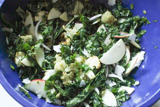 Autumn-Kale-Salad-with-Roasted-Cauliflower-and-Apple-step-7