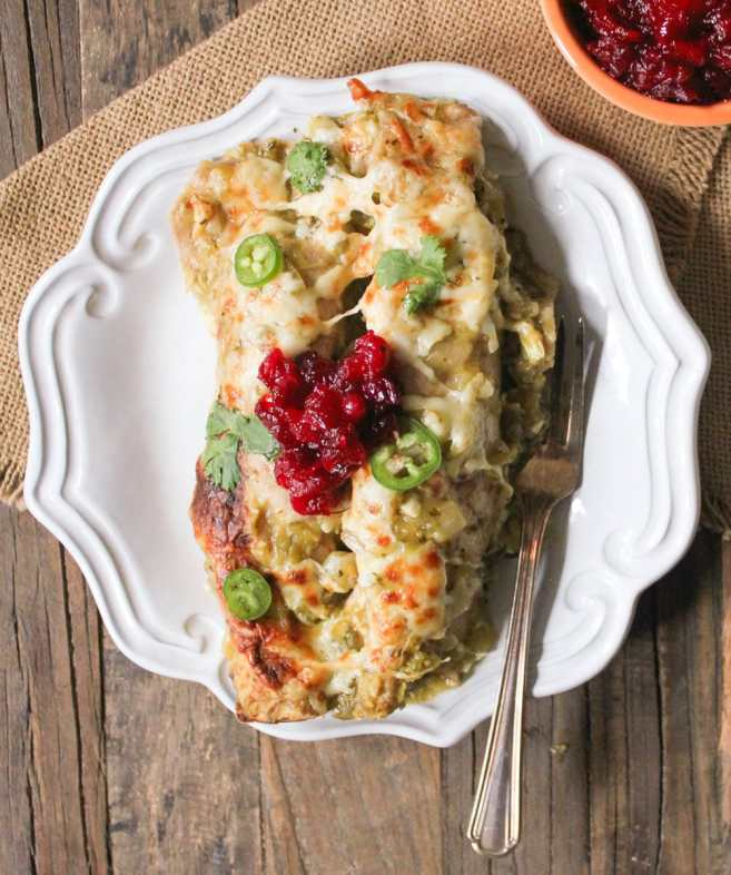 Thanksgiving-Leftovers-Enchiladas-with-Salsa-Verde-4