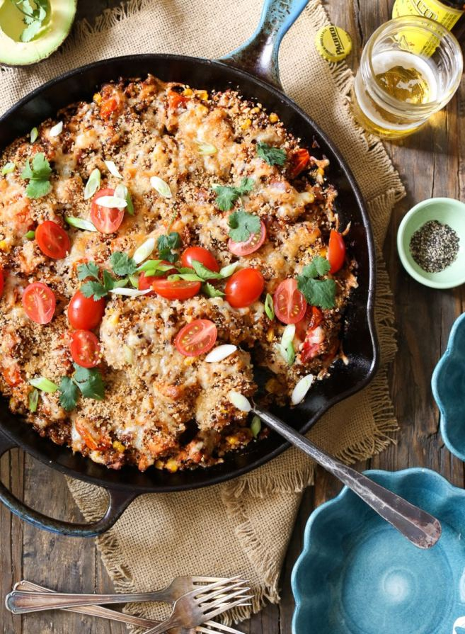 barbecue-chicken-quinoa-casserole-4