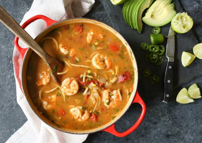spicy-jicama-tortilla-soup-with-shrimp-7