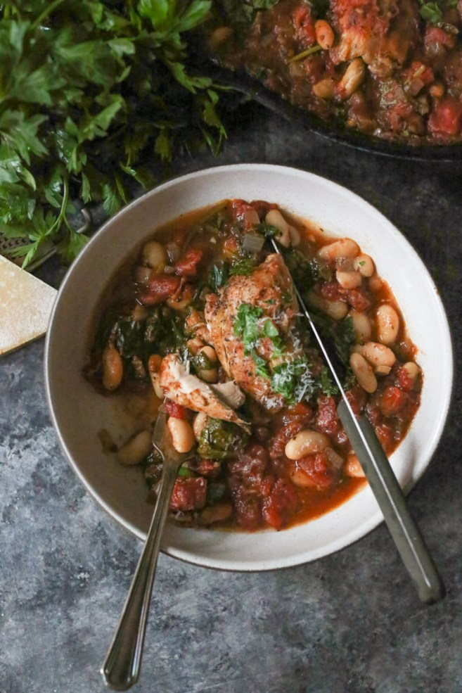 braised-chicken-thighs-with-spinach-white-beans-5